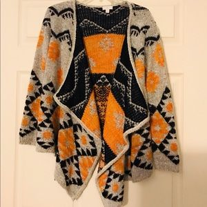 Fashionable winter sweater